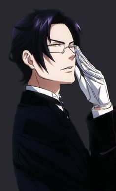 Eventhough I hate him but there you go people, Claude Faustus Black Butler Anime, Claude Faustus, Anime Guys, Manga Anime, Manhwa, Black Butler Characters, Black And White Baby, Black Buttler, Ciel Phantomhive