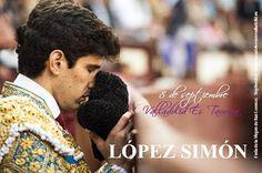 Una feria con cabida para los jóvenes como López Simón   Taquillas 👉 10 -14h. y 18 - 21h #Septiembre2016 #ValladolidEsTaurina #TienesQueVenir #FeriaTaurina #NuestraSeñoraDeSanLorenzo