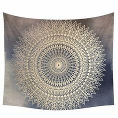 Indienne Mandala tapisserie Hippie Tenture murale par AstirHome