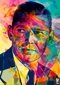 Abstract Colors by Alessandro Pautasso, via Behance