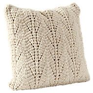 Kussenhoes wol (45x45cm) Ecru