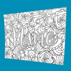 DIGITAL** Custom Coloring Page Purchase this item and