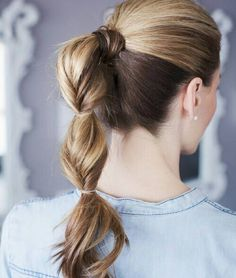 30 Easy Cute Updos for a Classy Woman — For Any Occasion Check more at http://hairstylezz.com/best-cute-updos/