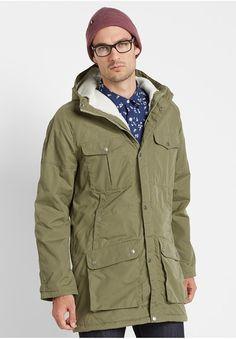 FJÄLLRÄVEN Greenland Winter Parka Winter Parka, Military Jacket, Raincoat, Men's Fashion, Jackets, Fashion Backpack, Clothing, Rain Jacket, Men Fashion