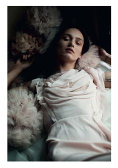 """""""The Apartment,"""" featuring Karmen Pedaru, photographed by David Armstrong for POP (Spring/Summer 2013)."""