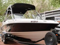 2006 Yamaha AR 230 -Bait Well,Twin,Live Well,Trailer,Gas,Depth Finder,AM/FM Radio,Mooring Cover 2006 Yamaha AR 230, NO hour meter, however has about 60 hours based on history of use. Key Features Multiple storage compartments 36-quart built-in ice chest,Innovative swim platform, Center walk-thru transom, Telescoping re-boarding ladder - See more at: http://www.caboats.com/used-boats/9021.htm