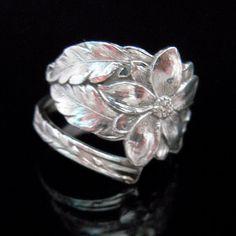 Sterling Silver Spoon Ring Silverware Jewelry by MarchelloArt Silver Spoon Jewelry, Fork Jewelry, Silverware Jewelry, Silver Spoons, Metal Jewelry, Jewelry Art, Vintage Jewelry, Sterling Jewelry, Sterling Silver