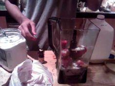5 MINUTE ICE CREAM - HOW TO MAKE HOMEMADE & ORGANIC ICE CREAM IN A BLENDER!!! (Ninja Blender)
