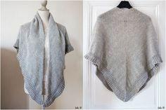 Le tuto tricot du châle Mara en français. Lola's DIY, La fabrique de Lola: Châle Mara