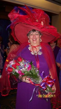 Queen TooToo...Red Hat of the Year New Orleans...2011
