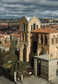 Basilica de San Vicente - Avila, Spain