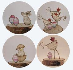 Fée de papier - Happy Easter - Technique by epistyle.blogspot.fr