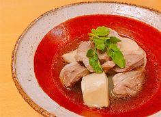 美味しい日本酒を楽しもう会--鴨、大根、生麩の煮物