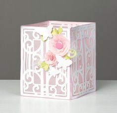 make this beautiful #Cricut lantern