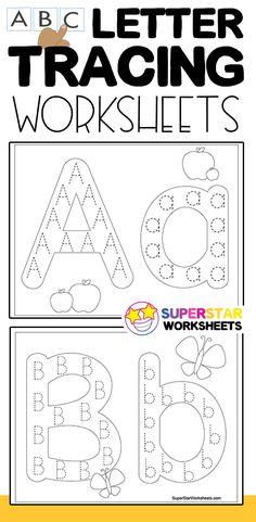 Letter Tracing Worksheets