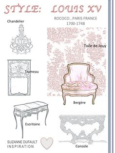 6 favorite Louis XV pieces