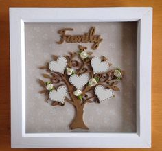 MOTHERS DAY 2017 Unique Family Tree Frame Perfect Gift For Mother's Day, Birthdays & weddings