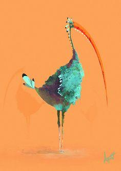 ArtStation - Summer bird, Florian Aupetit