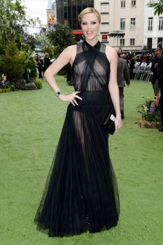 Charlize Theron in Christian Dior at the world premiere of 'Snow White and the Hunstman' in London on May 14.