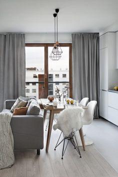Scandinavian apartment by Agnieszka Karaś | HomeAdore