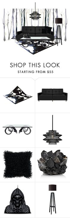 """""""Black forrest"""" by maddy0428 on Polyvore featuring interior, interiors, interior design, home, home decor, interior decorating, Jonathan Adler, Troy, Artisan Weaver and McCoy Design"""