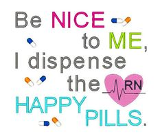 Be Nice Machine Embroidery Design Nurse Sayings by EmbroidDesigns