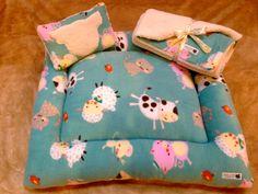 Mini pig bed, mini pig rooting blanket and mini pig pillow