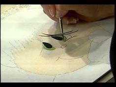 Sabor de Vida Artesanatos | Pintura de Rostinhos para Bonecas, Papai Noel e Animais - 23 de Outubro - YouTube