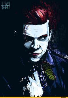 Gotham,Готэм,DC Comics,DC Universe, Вселенная ДиСи,фэндомы,Joker,Джокер, Клоун-принц преступного мира,Jerome Valeska,lanabensel
