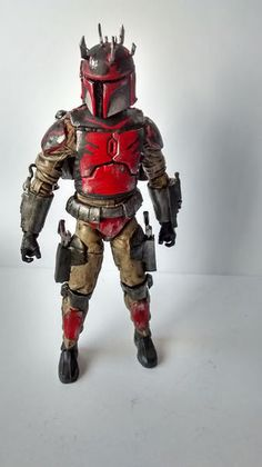 Mandalorian (Star Wars Clone Wars) Custom Action Figure