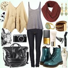 Image detail for -boots, combat boots, cute, fall, fashion - inspiring picture on Favim ...