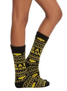 bat man socks. I NEEEED these asap!