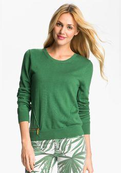 michael kors sweater.......i love the green!