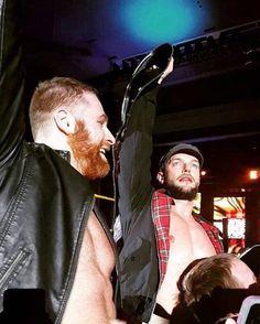Sami Zayn and Finn Balor