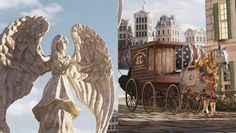 ArtStation - Bioshock Infinite - Street, Miguel Antero