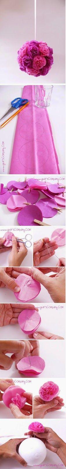 okulöncesi çiçek yapımı