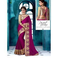 Buy Online Designer Sarees, shari, Ethnic sarees, Violet Color, Saree, sari, partywear, kitty party wear for women. We have large range of Designer Georgette Sarees in our website with the best pricing and unique designs shipping to (UK, USA, India, Germany, UAE, Canada, Singapore, Australia, Mauritius, New Zealand) world wide.