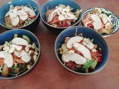 Lchf, Keto, Pasta Salad, Potato Salad, Potatoes, Meals, Chicken, Ethnic Recipes, Food
