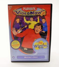 Playskool Video Now Jr The Wiggles PVD Educational Disc