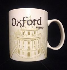 Starbucks Oxford Mug Radcliffe Cam Brasnose All Souls Bodleian Christ Icon UK