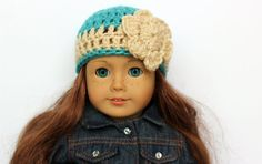 Doll Hat  Doll Clothes  Doll Accessories   by CreativeDollCrafts