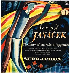 The Diary of one who disappeared - Janacek Vintage Records, Album Covers, Vinyl Records, Singer, Movie Posters, Painting, Art, Art Background, Singers