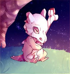 """""""Mommy, I´m so alone..."""" Lil poorie Cubone hnnnnnnnnnnnnnn Another collab with my lovely She did the Lineart for Cubone and I coloured Been so sad an depressed. Colouring really helps for me ahhh ;..."""