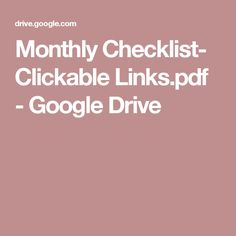 Monthly Checklist- Clickable Links.pdf - Google Drive