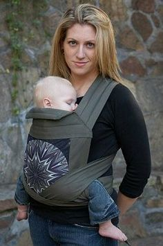 mei tei babyhawk. This was my second favorite style of carrier, so easy for front/back carries.