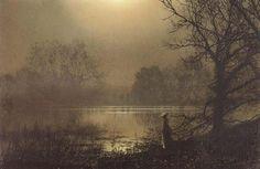 Meditation, Atkinson Grimshaw