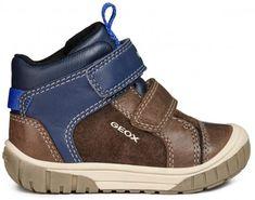 Geox Omar Coffee Blue Boots