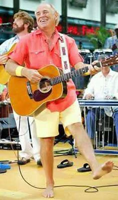 Jimmy Buffett = summer!  I love how Mac McAnally is also seen in this picture!