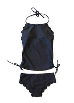 Most flattering + supportive tankini ever!