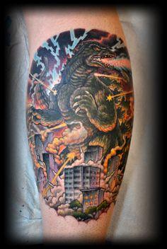 godzilla tattoos - Google Search